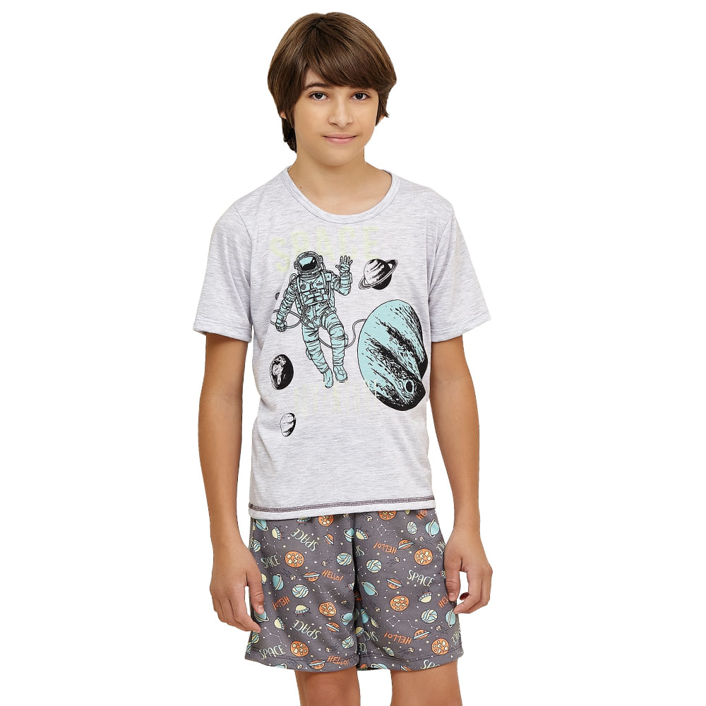 a16ead7d3 Pijama Manga Curta Infanto Juvenil Menino - Luna Cuore 2226 - Intima ...