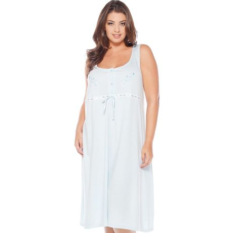 Camisola Regata Bordado Feminina Plus Size 546cde8d838