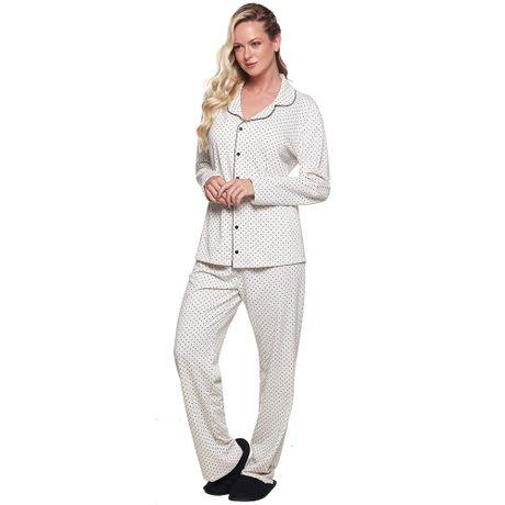 813a1ac20 Pijama de Inverno Moletinho Estampa Póa Feminino Luna Cuore