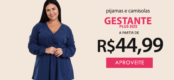 Pijama Gestante Plus Size