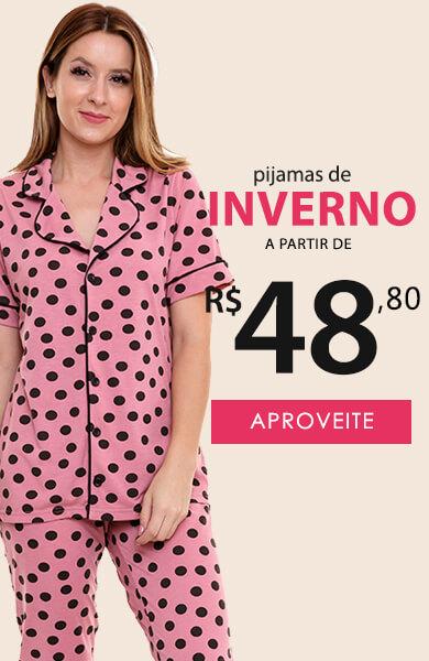 Pijama Longo Inverno Feminino