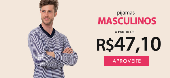 Pijama Longo Masculino