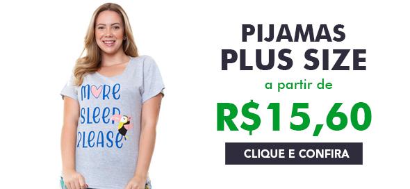 Pijama Plus Size Feminino