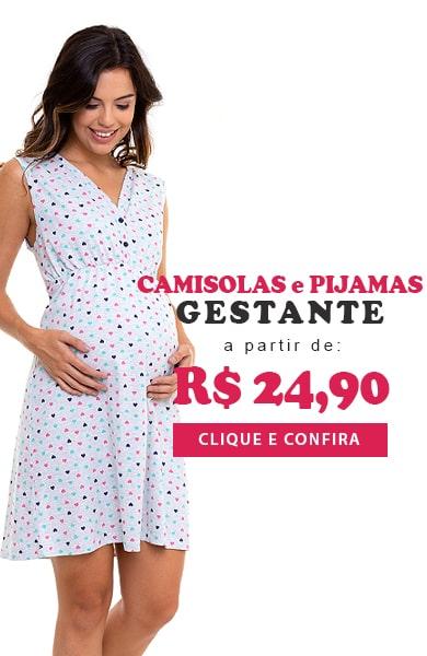 Pijama e Camisolas Gestante