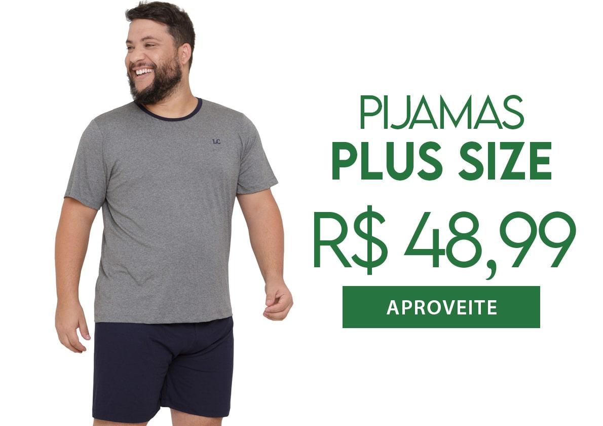 Pijama Plus Size Masculino